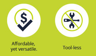 Infographics: Affordable, Tool-less